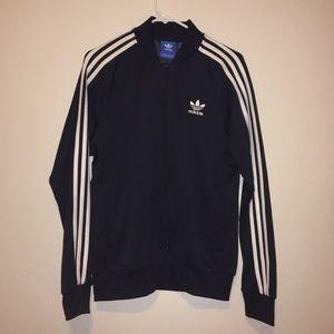 Navy Blue Adidas zip up jacket